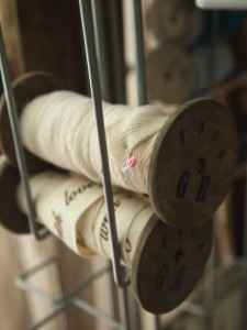 oude houten klosjes maken