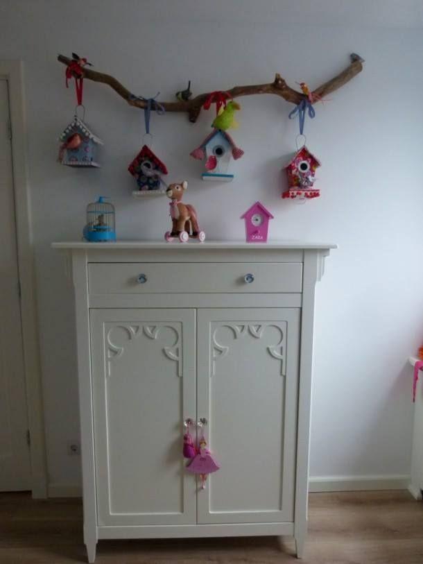 Wis en waarachtig kapstok decoreren - Decoratie slaapkamer meisje jaar ...
