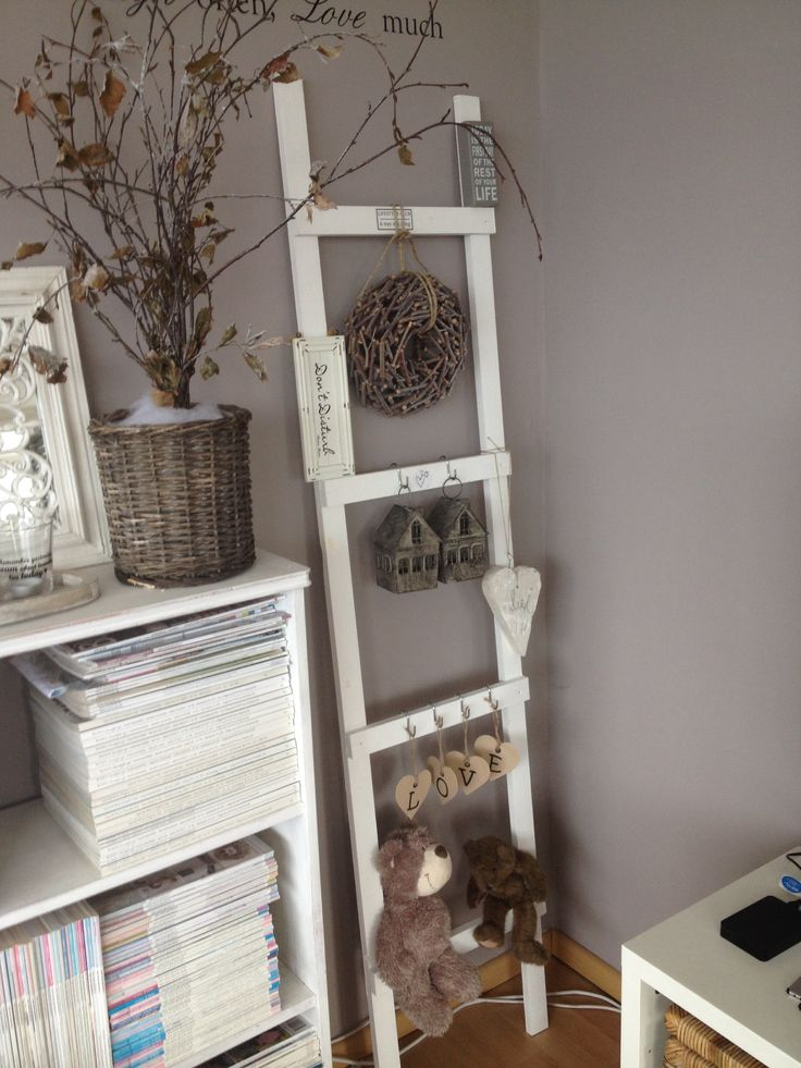 Wis en waarachtig ladder - Decoratie idee ...
