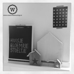sfeerfotot-houten-huisjes-zwart-wit