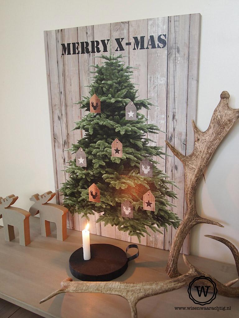 Wis en waarachtig kerstdecoratie for Kerst ideeen voor in huis