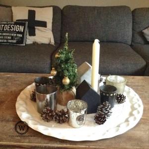 kerstdecoratie-dienblad