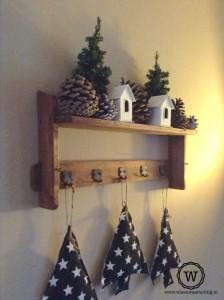 kerstdecoratie-kapstok