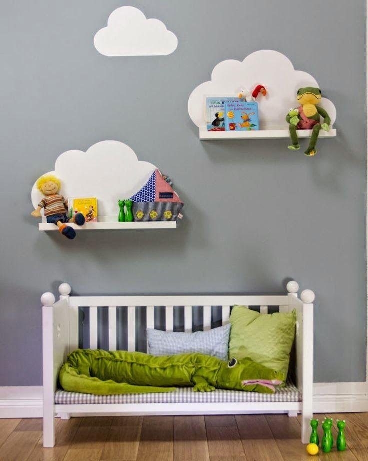 wis en waarachtig » wolken babykamer, Deco ideeën