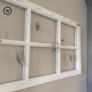 oud raam decoratie