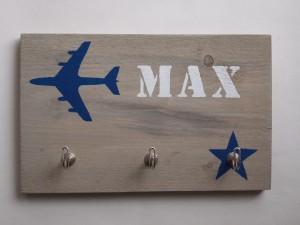 kinderkapstok vliegtuig