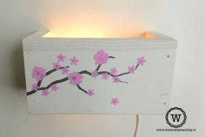 wandlamp bloemen kinderkamer