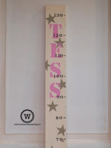 groeimeter-meisje-sterren