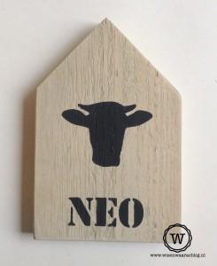 houten huis naam stier