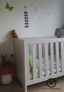 wolkenslinger zwart wit babykamer