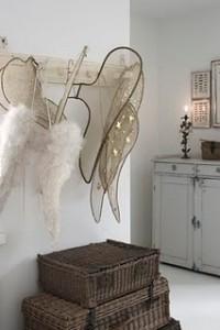 kerst kapstok engel vleugels