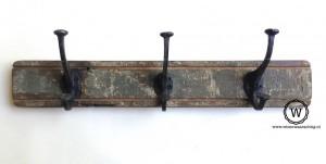 kapstok oud hout vintage