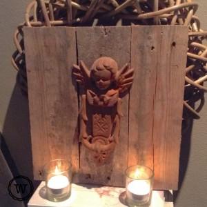 engeltje in huis landelijk