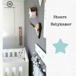 stoere babykamer sterren