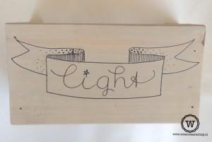 lamp kinderkamer handlettering